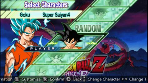 Dragon Ball Z Shin Budokai 2 God Blue Mod Ppsspp Cso